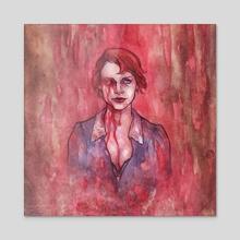 Moira o'Hara - Acrylic by Darya Khalikova