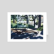 College Inn II - Art Card by Rachel Delgado