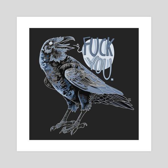 Said the Raven by Mio Mäkijärvi