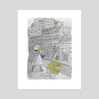 Daffodils in the City - Art Print by Mishka Jaeger
