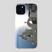 Santorini - Phone Case by Aaron Markowitz