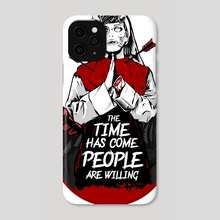 The Time - Phone Case by bohdan Fishbein