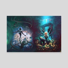 Artemis Fowl 7+8 - Canvas by Shayu Dan