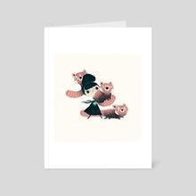 panda - Art Card by yohan sacré