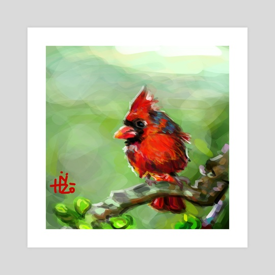 Red Bird by HYZO