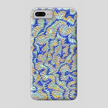 Wiggly - Phone Case by Michelle Crutchley