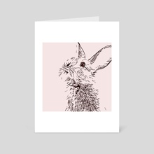 Bunny - Art Card by Bruce Cowie