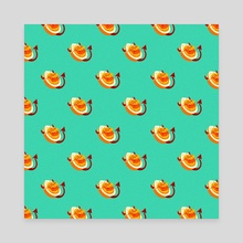 Deviled Eggs - Canvas by Morgan Jensen