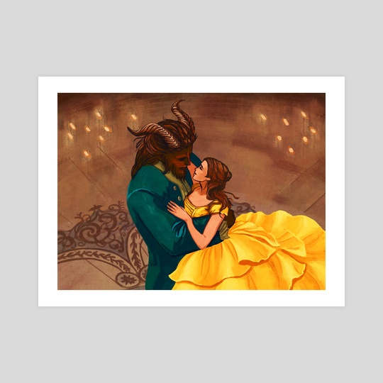 Beauty and the Beast by Christy Tortland