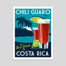 costa rica chili guaro - Canvas by matt schnepf