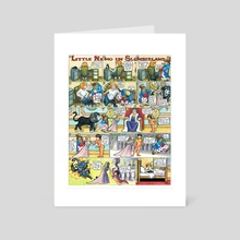 Little Nemo in Slumberland Tribute by M. C. Matz - Art Card by M. C.  Matz
