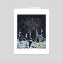 First Communion - Art Card by Mindaugas Mališauskas