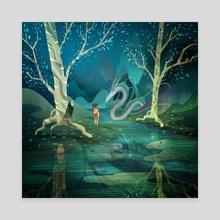 Spirited Away - Canvas by Alexandre Belbari