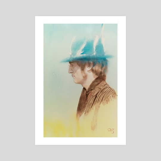 John Lennon by Wout de Zeeuw