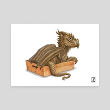 If it fits,I sits - Canvas by Lynton Levengood