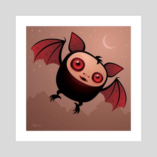 RedEye the Vampire Bat Boy by John Schwegel