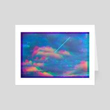cumulo-neon - Art Card by ashley kruythoff