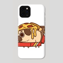 Pizza Puglie - Phone Case by Puglie Pug