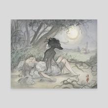 Sleep Walker - Canvas by Hope Doe