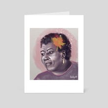 Octavia E. Butler - Art Card by Kelly Huggins