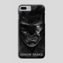 Venom Snake - Metal Gear Soild - Phone Case by Cristian Sánchez