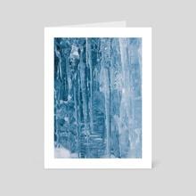 Iceland (three) - Art Card by Mariel Wiley