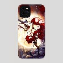 f l o a t - Phone Case by Chandra Free