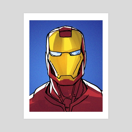 I am Iron Man by DaveCaveDraws