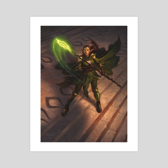 Nissa, Worldwaker by Chris Rahn