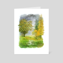 Autumn - Art Card by Vitali Dudarenka