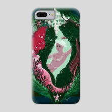 The Sleeping Mermaid - Phone Case by Lauren DeGraaf