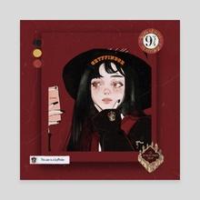Gryffindor - Canvas by Jii 97