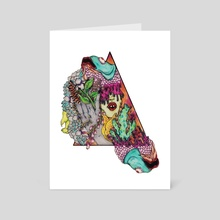 pisces  - Art Card by Valisa