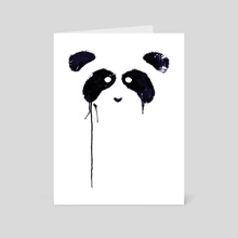 Panda - Art Card by Tobias Fonseca