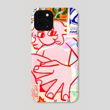 water damage - Phone Case by Kit