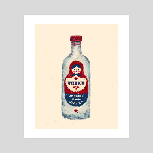 VODKA by Andres Colimedaglia