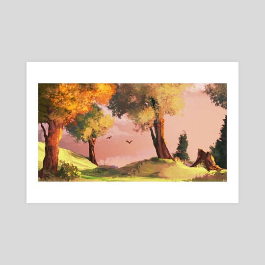 Pink Clouds by Rachel Cronk