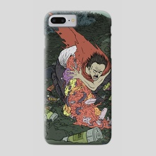 Tetsuo! - Phone Case by M C Wolfman