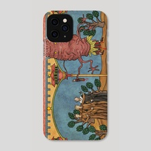 Floating Monster - Phone Case by Robert Altbauer