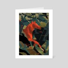 War Horse - Art Card by Ciaran Murphy