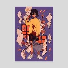 KNY Inosuke - Canvas by tvchany