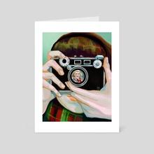 Carol - Art Card by Tiffany Baxter