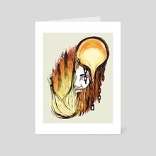 Hephaestus - Art Card by Aimee Flom