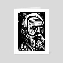 War Dudes Yolo 24 - Art Card by Daniel Newman