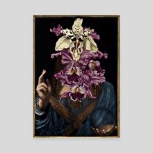 Flower of Mundi - Canvas by Riff Destroyxstairs