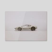 288 GTO White - Acrylic by Matt Boyle