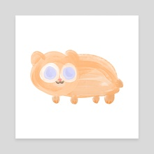 Hamster - Canvas by Steen