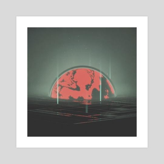 hazy maze by drewmadestuff