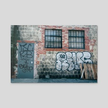 Casper - Acrylic by Alex Tonetti