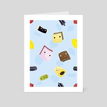Haribo Friends - Art Card by Jonas Laugs